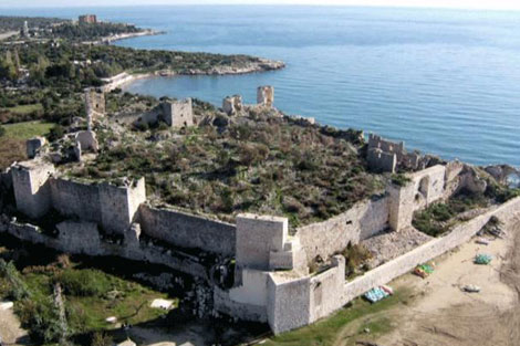 Mersin gt tourist attractions gt korykos castle