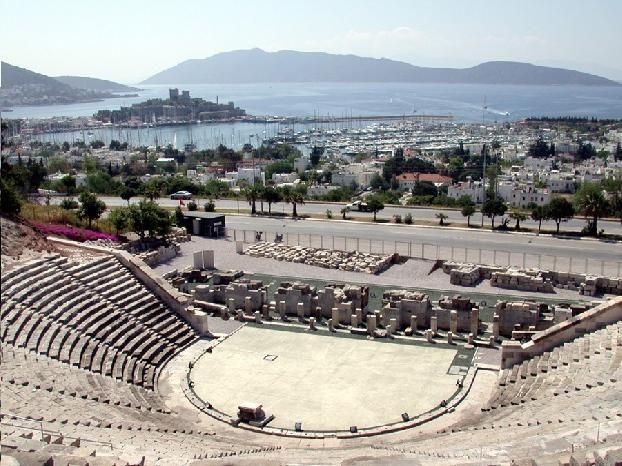 Bodrum Amphitheater - Turkey Travel Guide