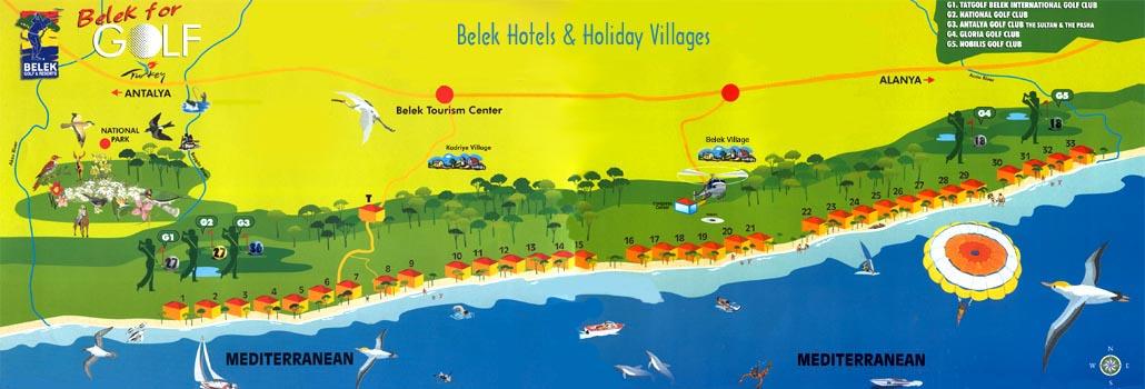 belek turkey travel guide