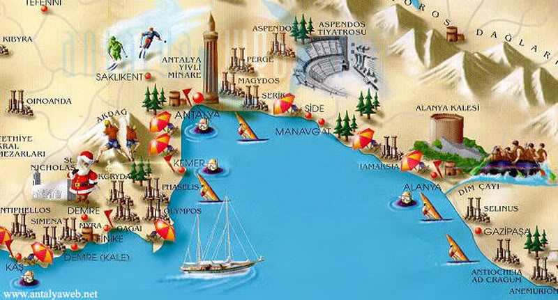 antalya tourist attractions